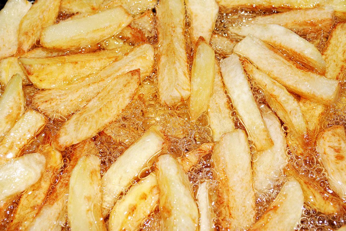 La patata frita perfecta