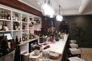 Barra del Restaurante Aguatinta